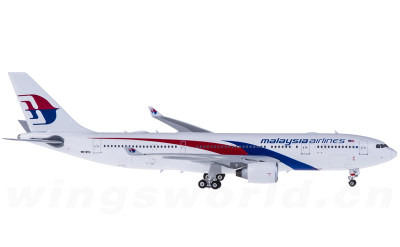 Malaysia Airlines 马来西亚航空 Airbus A330-200 9M-MTU