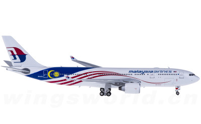 Malaysia Airlines 马来西亚航空 Airbus A330-200 9M-MTX 国旗彩绘
