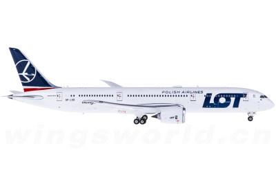 LOT 波兰航空 Boeing 787-9 SP-LSB