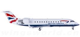 British Airways 英国航空 Bombardier CRJ200 G-MSKR