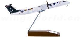 Austrian Airlines 奥地利航空 Bombardier Dash 8 Q400 OE-LGC 星空联盟彩绘