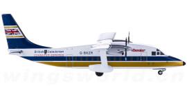 British Caledonian 英国金狮航空 Short 360 G-BKZR