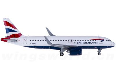 British Airways 英国航空 Airbus A320neo G-TTNA