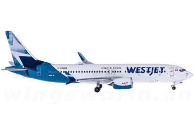 WestJet 西捷航空 Boeing 737 MAX 8 C-FNWD