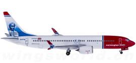 Norwegian Air Shuttle 挪威航空 Boeing 737 MAX 8 EI-FYE