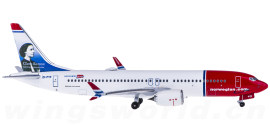Norwegian Air Shuttle 挪威航空 Boeing 737 MAX 8 EI-FYF