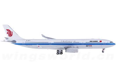 Phoenix 1:400 Air China 中国国际航空 Airbus A330-300 B-5977 第50架A330纪念