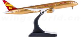 Hainan Airlines 海南航空 Boeing 787-9 B-1343 全金色 襟翼打开
