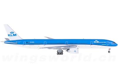 Geminijets 1:400 KLM 荷兰皇家航空 Boeing 777-300ER PH-BVN