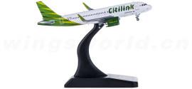 Citilink 连城航空 Airbus A320neo PK-GTA