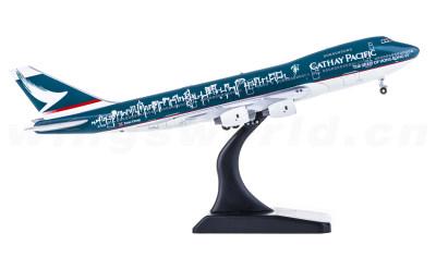 JC Wings 1:400 Cathay Pacific 国泰航空 Boeing 747-200B B-HIB 香港精神号