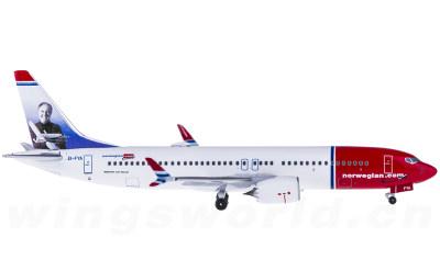 Norwegian Air Shuttle 挪威航空 Boeing 737 MAX 8 EI-FYA Sir Freddie Laker