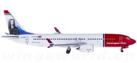 Norwegian Air Shuttle 挪威航空 Boeing 737 MAX 8 EI-FYC Jon Swift