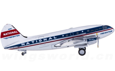 National Airlines Curtiss C-46 N1661M