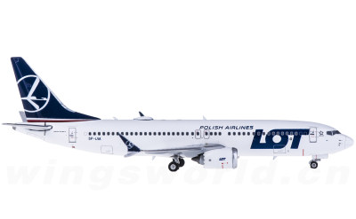 Phoenix 1:400 LOT 波兰航空 Boeing 737 MAX 8 SP-LVA