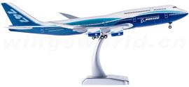 Boeing 747-8 波音梦想涂装