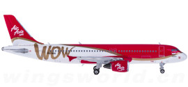 AirAsia 亚洲航空 Airbus A320 PK-AXS
