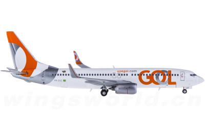 Geminijets 1:400 GOL 高尔航空 Boeing 737-800 PR-GXZ