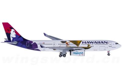 AeroClassics 1:400 Hawaiian Airlines 夏威夷航空 Airbus A330-200 N391HA 海洋奇缘彩绘