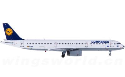Lufthansa 汉莎航空 Airbus A321 D-AISC