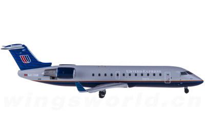 Geminijets 1:400 United Airlines 美国联合航空 Bombardier CRJ-200 N417AW