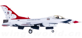 USAF 美国空军 Lockheed Martin F-16C 雷鸟飞行表演队 1号机