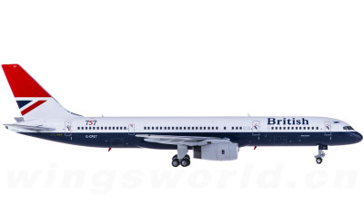 British Airways 英国航空 Boeing 757-200 G-CPET