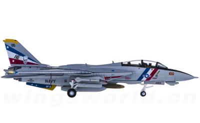 Hogan 1:200 U.S. Navy 美国海军 Grumman F-14D 雄猫 VF-2 NE100