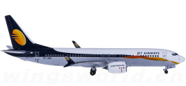 Jet Airways 印度捷特航空 Boeing 737 MAX 8 VT-JXA