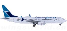 WestJet 西捷航空 Boeing 737 MAX 8 C-FRAX