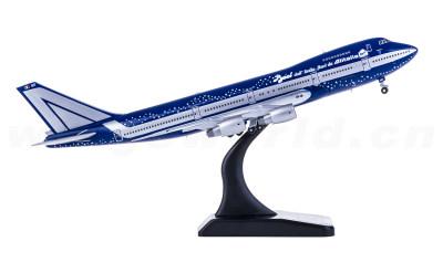 Alitalia 意大利航空 Boeing 747-200B I-DEMF Baci涂装
