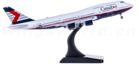 Canadian Airlines 加拿大航空 Boeing 747-400 C-FBCA