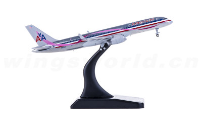 JC Wings 1:400 American Airlines 美国航空 Boeing 757-200 N664AA 红丝带