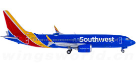 Southwest Airlines 美国西南航空 Boeing 737 MAX 8 N8706W