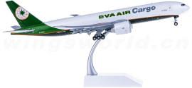 EVA Air 长荣航空 Boeing 777-200F B-16781 货机 襟翼打开