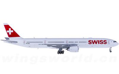 JC Wings 1:400 Swiss 瑞士国际航空 Boeing 777-300ER HB-JNB