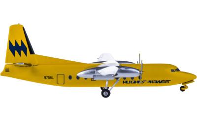 Hughes Airwest Fairchild F-27 N756L