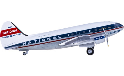 National Airlines Curtiss C-46 Commando N1661M