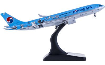 Korean Air 大韩航空 Airbus A330-200 HL8227 平昌冬奥会彩绘