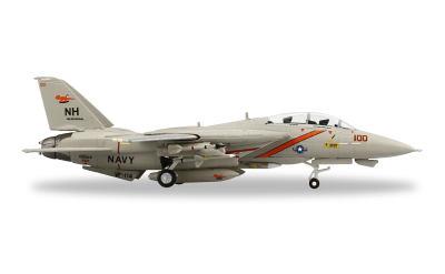 Herpa 1:200 U.S. Navy 美国海军 Grumman F-14A Tomcat VF-114 NH 100