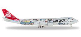 Cargolux 卢森堡货运航空 Boeing 747-8F LX-VCM 45周年彩绘 货机