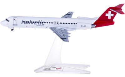 Helvetic Airways 海尔维航空 Fokker 100 HB-JVF