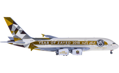 Etihad Airways 阿提哈德航空 Airbus A380 A6-APH Year of Zayed