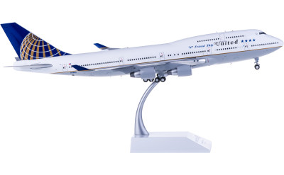 United Airlines 美国联合航空 Boeing 747-400 N118UA 最后飞行
