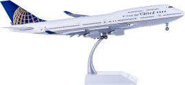 United Airlines 美国联合航空 Boeing 747-400 N118UA 最后飞行 襟翼打开