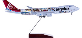 Cargolux 卢森堡货运航空 Boeing 747-8F LX-VCM 货机 45周年彩绘