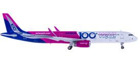 Wizz Air 维兹航空 Airbus A321 HA-LTD
