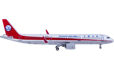 HYJLwings 1:400 Sichuan Airlines 四川航空 Airbus A321 B-302Q