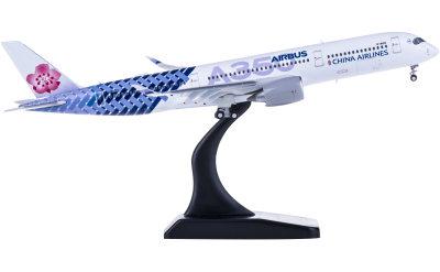 China Airlines 中华航空 Airbus A350-900XWB B-18918 襟翼打开