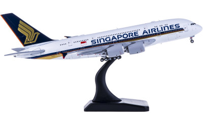 JC Wings 1:400 Singapore Airlines 新加坡航空 Airbus A380 9V-SKV
